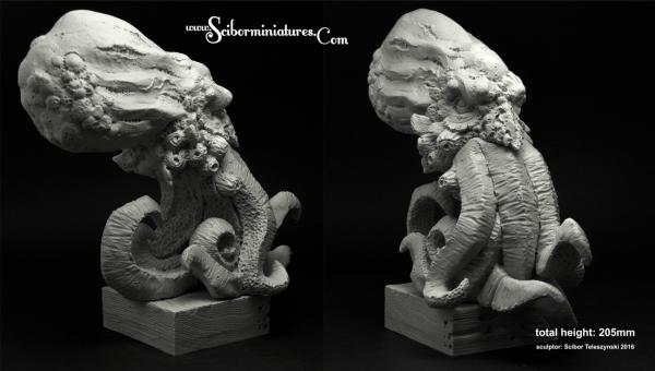 28mm Fantasy Miniatures: Cthulhu Bust (1)