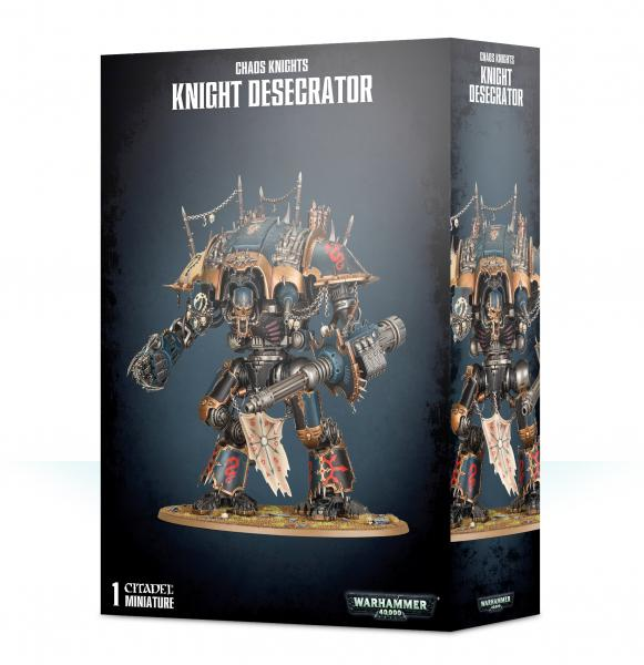 WH40K: Chaos Knights - Knight Desecrator