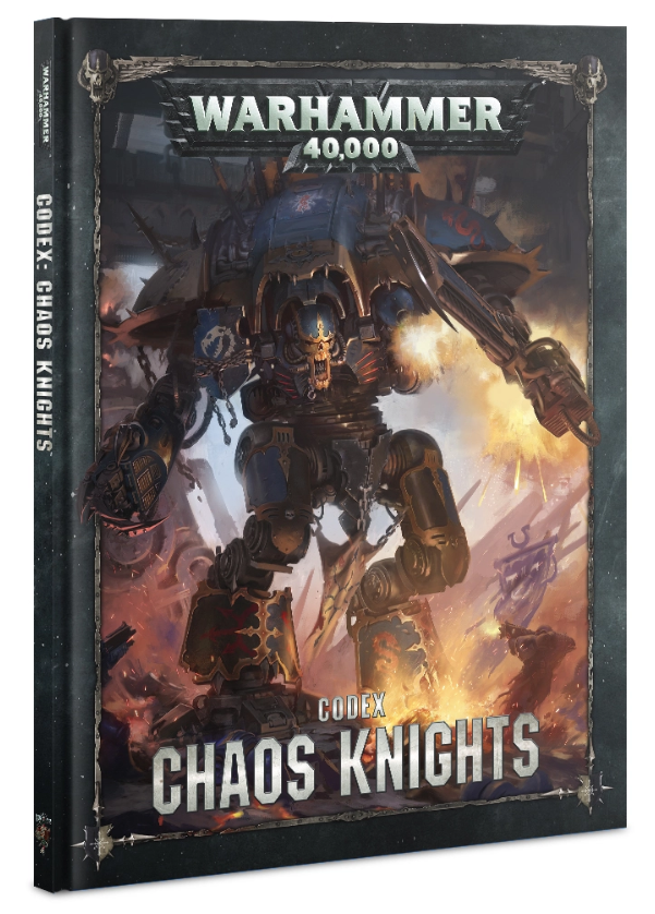 WH40K: Chaos Knights Codex (HC)
