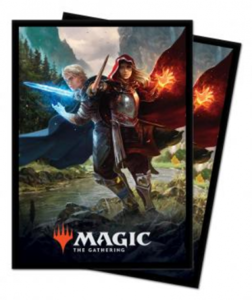 Magic: Throne of Eldraine Standard Deck Protectors - Royal Scions (100)