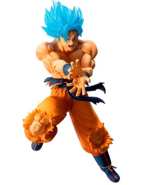 Super Saiyan God SS  Son Goku ''Dragon Ball'', Bandai Ichiban Figure