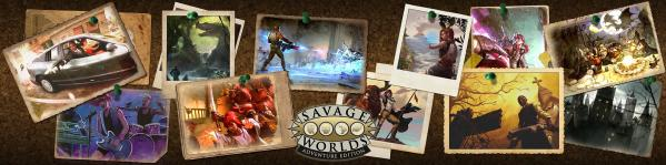 Savage Worlds Adventure Edition: Game Master Screen + Mini-Settings