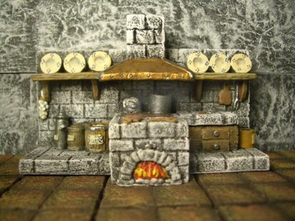 Terrain Accessories: Castle Kitchen