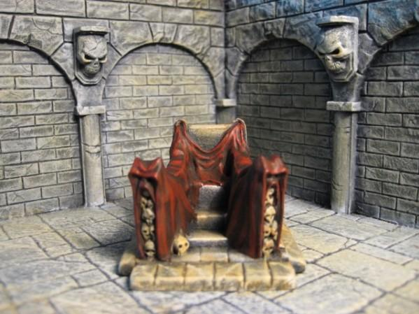Terrain Accessories: Throne ''Rege Noctem''