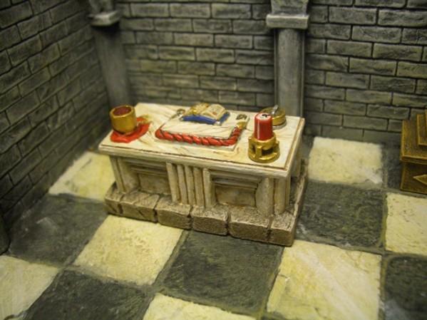 Terrain Accessories: Altar
