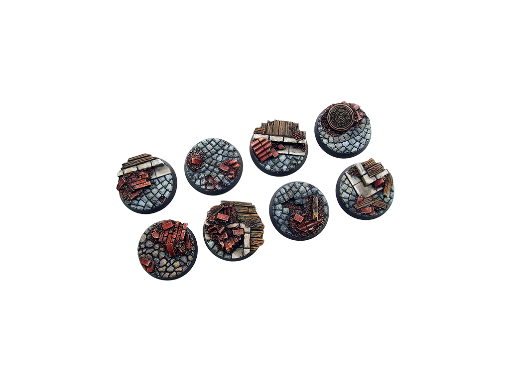 Battle Bases: Triad Bases, Round 32mm (4)