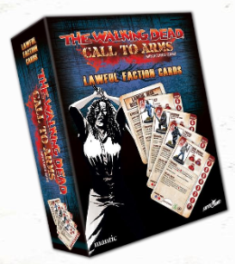 The Walking Dead: Call to Arms Lawful Factions Character Card Deck