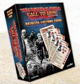 The Walking Dead: Call to Arms Ruthless Factions Character Card Deck