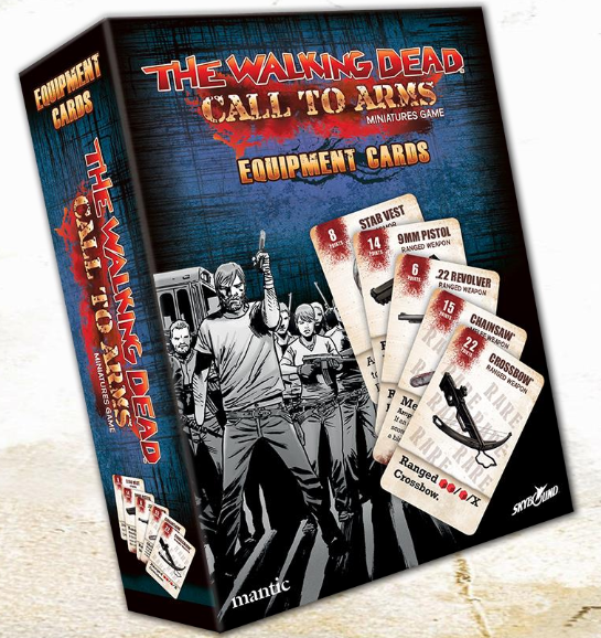 The Walking Dead: Call to Arms Equipment Cards Deck