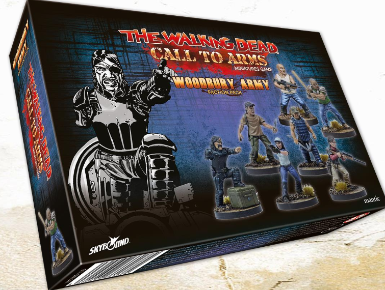 The Walking Dead: Call to Arms - Woodbury Army Faction Pack Booster