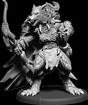 Darklands: Hunter Hrōr, Werwulf Thegn (resin)