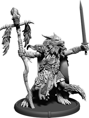 Darklands: Thurgis, Werwulf Wiglere (resin)