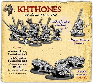 Darklands: Khthones Sávrakontar Support Starter Host (resin)
