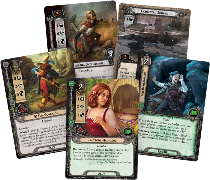 Lord of the Rings LCG: Wrath and Ruin Expansion Pack