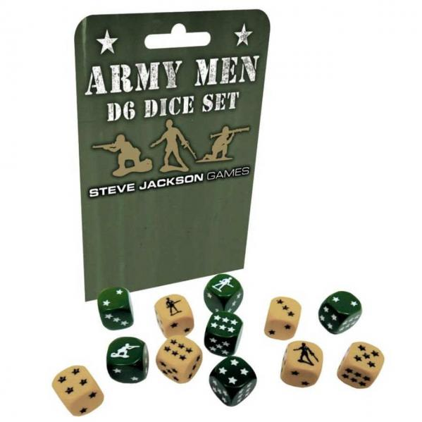 Army Men d6 Dice Set (12)