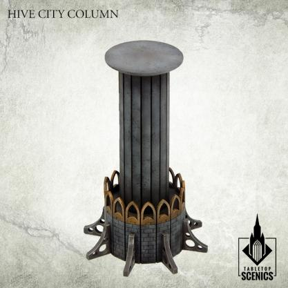 Kromlech Tabletop Scenics: Hive City Column