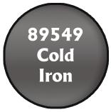 Pathifnder Paints: Cold Iron (1.5oz)