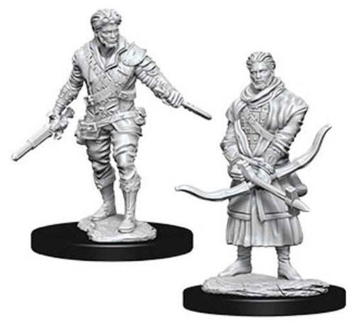 D&D Nolzurs Marvelous Unpainted Minis: Male Human Rogue (2)