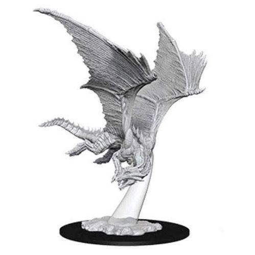 D&D Nolzurs Marvelous Unpainted Minis: Young Bronze Dragon