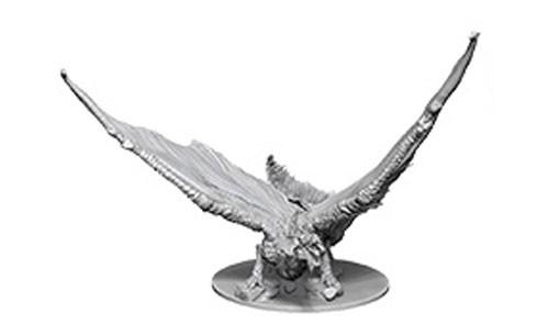 D&D Nolzurs Marvelous Unpainted Minis: Young Brass Dragon