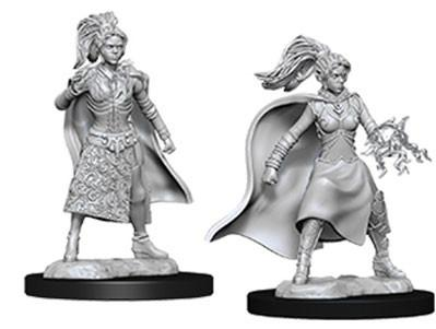D&D Nolzurs Marvelous Unpainted Minis: Female Human Sorcerer (2)