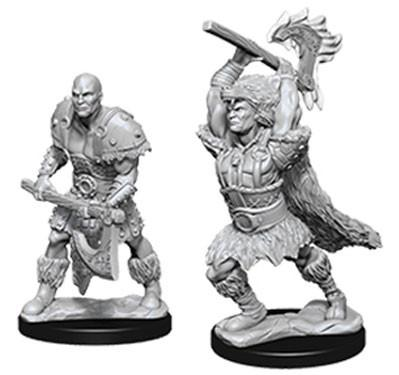 D&D Nolzurs Marvelous Unpainted Minis: Male Goliath Barbarian (2)