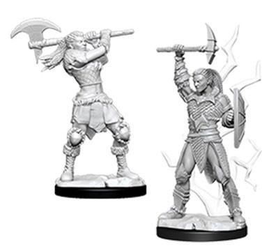 D&D Nolzurs Marvelous Unpainted Minis: Female Goliath Barbarian (2)