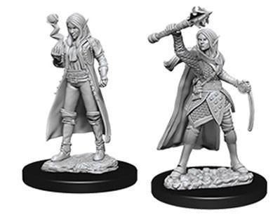 D&D Nolzurs Marvelous Unpainted Minis: Female Elf Cleric (2)