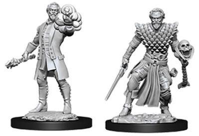 D&D Nolzurs Marvelous Unpainted Minis: Male Human Warlock (2)