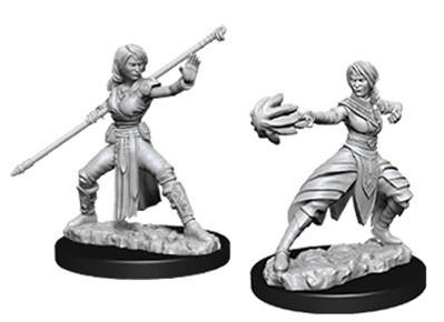 D&D Nolzurs Marvelous Unpainted Minis: Female Half-Elf Monk (2)