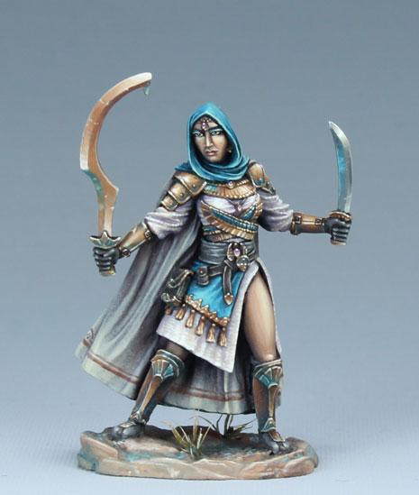 Visions In Fantasy: Female Eastern Warrior - Dual Wield