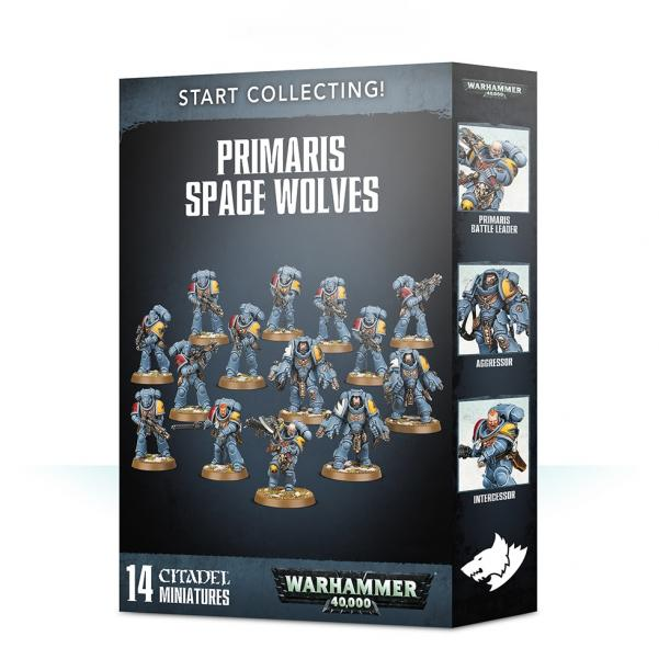 Warhammer 40K: Start Collecting! Primaris Space Wolves (2019)