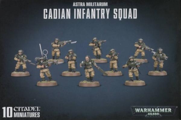 Shadow War: Astra Militarum Cadian Infantry Squad (2019)