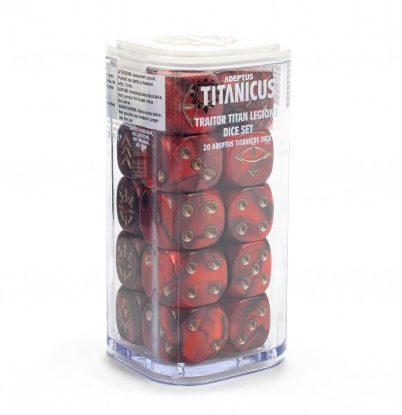 WH40K: Adeptus Titanicus Traitor Legions Dice