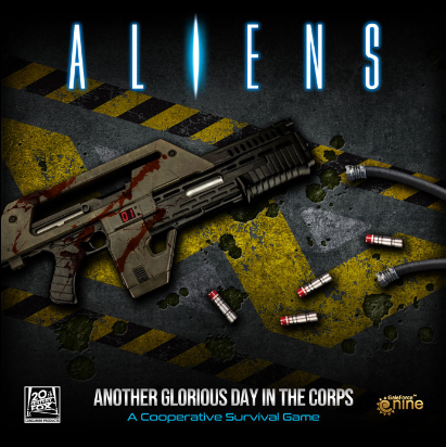 Aliens: Another Glorious Day in the Corps Boardgame