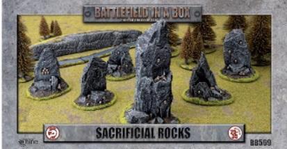 Battlefield in a Box: Sacrificial Rocks (x6)