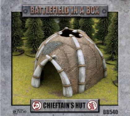 Battlefield in a Box: Chieftan Hut (x1)