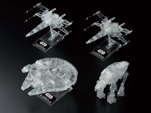 Bandai Hobby: Return of the Jedi Clear Vehicle Set  ''Star Wars'', Bandai Spirits VM