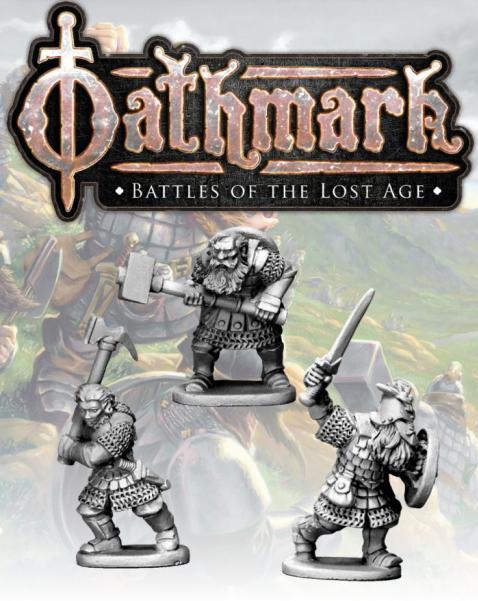 28mm Fantasy: (Oathmark) Dwarf Heroes (3)