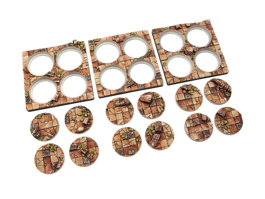 Battle Bases: Ancient Bases, Infantry (12) (for Conquest)