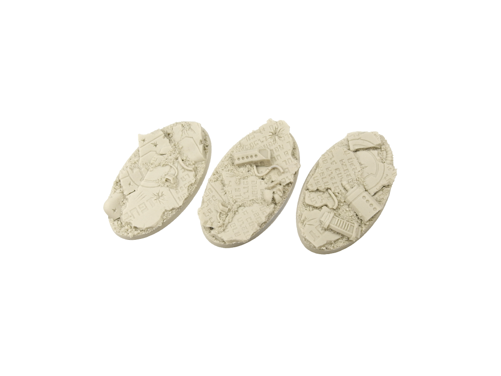 Battle Bases: TauCeti Bases, Oval 75mm (2)