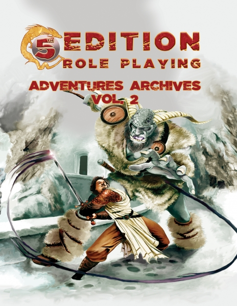 D&D 5th Edition Adventures: Archives, Vol.2 (Seven 5E Advs. w/ Setting Book)