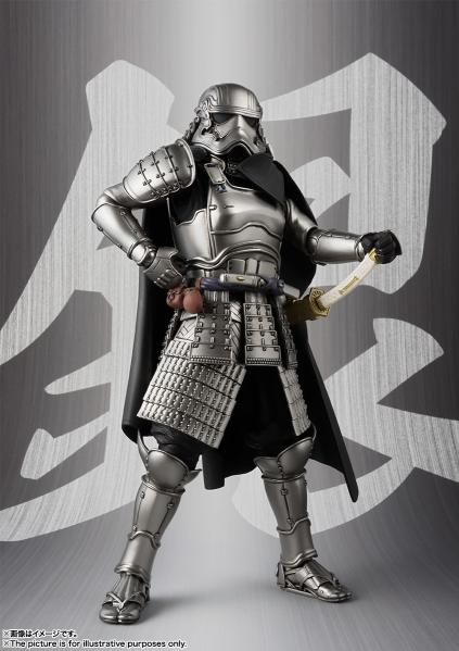 Bandai Hobby: Ashigaru Taisho Captain Phasma ''Star Wars'', Bandai Meisho Movie Realization