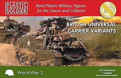 20mm WWII (German): 20mm WW2 1/72nd British Universal Carrier Variants