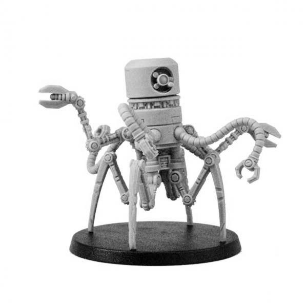Bombshell Miniatures: Mekkus Artificer