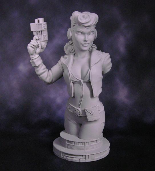 Bombshell Miniatures: Wanda Whitestar Bust