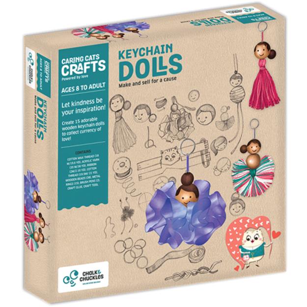 Keychain Dolls Crafting Kit
