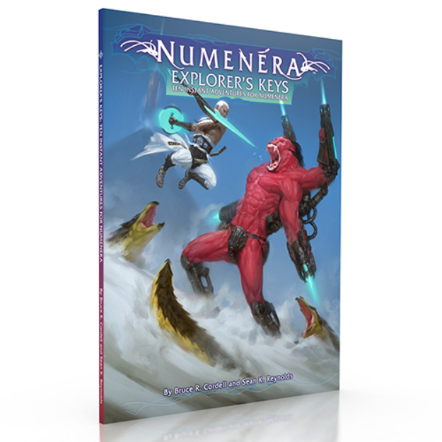 Numenera RPG: Explorers Keys - Ten Instant Adventures