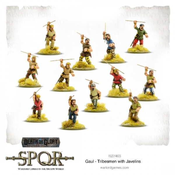 SPQR: Gaul - Tribesmen with Javelins