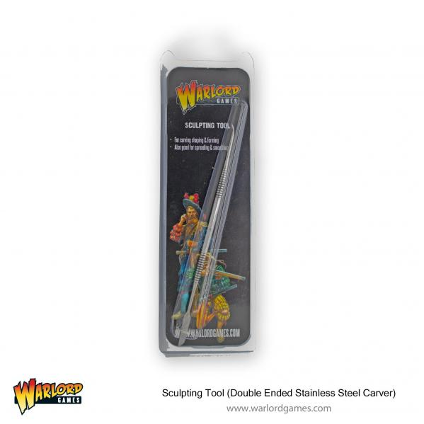 Warlord: (Accessory) Sculpting Tool (Double Ended Stainless Steel Carver)